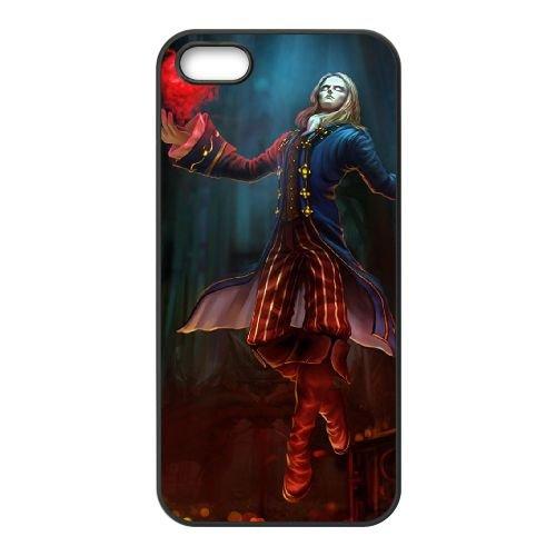 R5P17 League of Legends Marquis Vladimir U1V7LW coque iPhone 4 4s cellulaire cas de téléphone couvercle de coque noire KL5GIW2XB