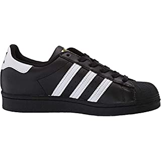 adidas Originals mens Superstar Deprecated Sneaker, Black/White/Black, 7 US