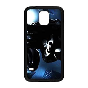 DC spiderman black Phone Case for Samsung Galaxy S5 Case