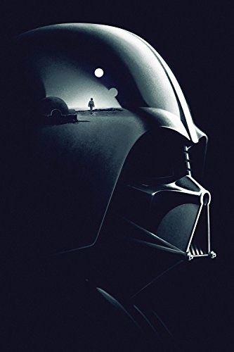 TST INNOPRINT CO Star Wars Darth Vader Face Movie Fan Art Po