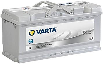 Varta 6104020923162 Silver Dynamic, Batteria Auto, 12V, 110 Ah