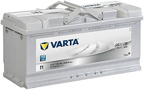 Varta Silver Dynamic I1 Batería de arranque, 6104020923162 12V 110Ah 920A