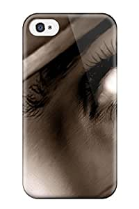 Awesome Ninja Look Flip Case With Fashion Design For Iphone 4/4s