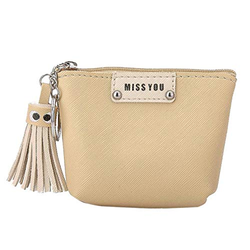 Coin Purse,Women Tassel Change Pouch Key Holder Bag Receive Package by-NEWONESUN