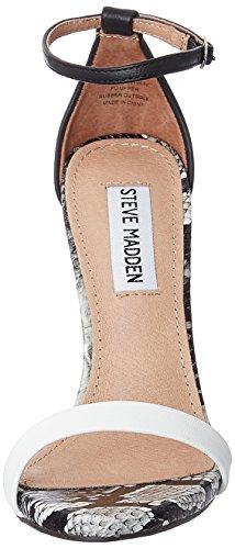 Femme Madden Stecy Plateforme Steve Blanc Sandales 7xaf8WwRq