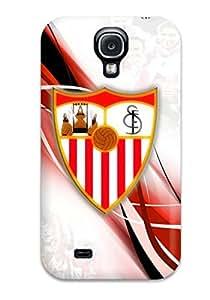 Zheng caseCase Cover Sevilla Fc Logo / Fashionable Case For Galaxy S4