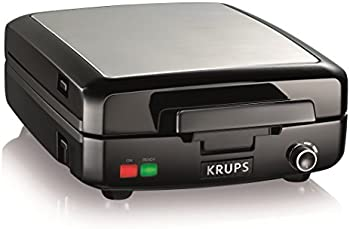 Krups GQ502D Adjustable Temperature Belgian Waffle Maker