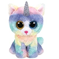 Ty - TY36250 - Beanie Boo's - Heather le chat licorne 15 cm