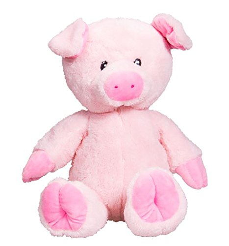 Cuddly Soft 16 inch Stuffed Pink Pig...We stuff 'em...you love 'em! ()