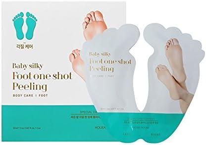 Holika Holika Baby Silky Foot Mask 1 Shot Peeling Holikaholika Package May Vary