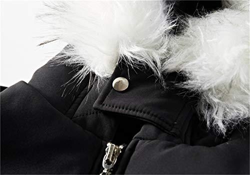 Spesso Spesso Spesso Plus ER Men's Imbottito di Casual Casual Casual Invernale Plus Uomo da QIN da con di Giacca Lungo Cotone Velluto Parka Uomo Coat Parka Caldo Overcoat outerwear in in Giacca Black Cappuccio Velluto Pelliccia pUnBPx5xqd