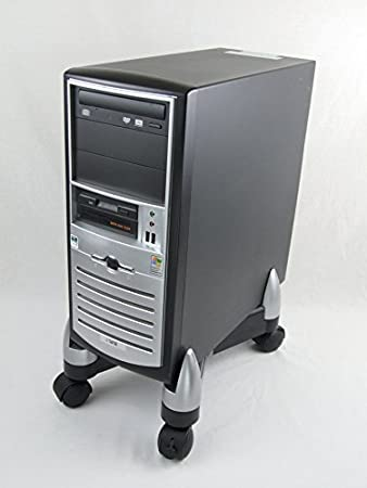 Fellowes - Soporte para CPU extensible, hasta 50 kg, color gris: Fellowes: Amazon.es: Oficina y papelería
