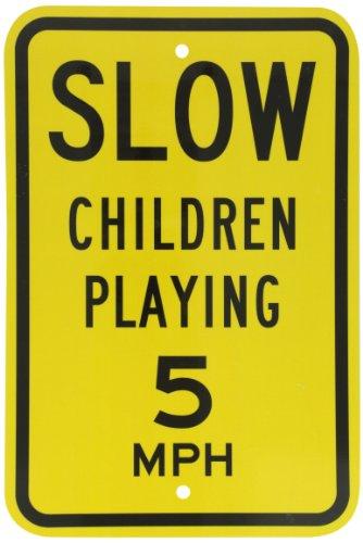 grade reflective sign legend slow - 9