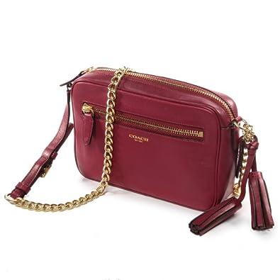 76c1f1a10c ... Coach Legacy Leather Flight Bag Deep Port Handbags Amazon.co ...