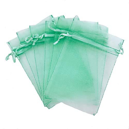 Shape Organza Favor Bags - 100 pcs 4x6