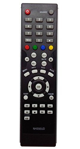 New Replaced Remote Control NH200UD For Sylvania Emerson TV