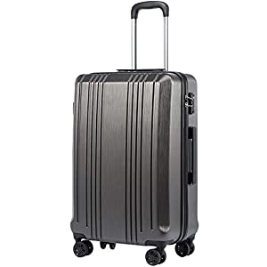 Coolife Luggage Expandable Carry On