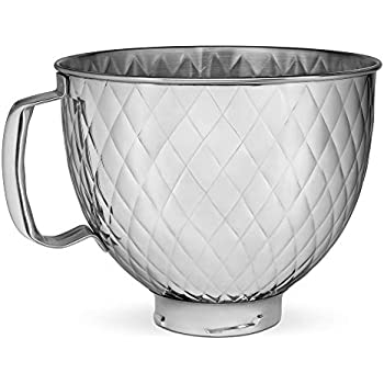 Amazon.com: KitchenAid Stainless Steel Bowl K45SBWH, 4.5 ...