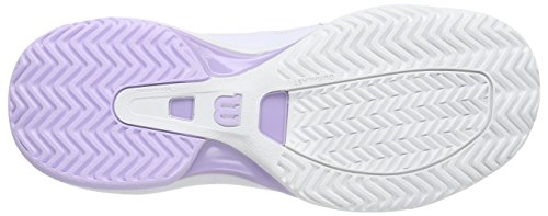 Morado Tenis Blanco Wilson De Zapatillas sintético de material NVISION WOMAN mujer 6vqvZf
