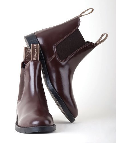 Rhinegold Childs Classic Leather Jodhpur Riding Boots
