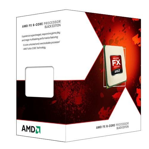 AMD Processeur FX 6100 Black Edition 6 coeurs 8 Mo Socket AM3+
