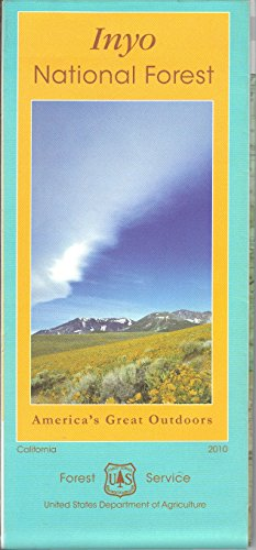 Inyo National Forest (America's Great - Map John Muir Wilderness