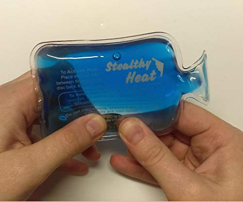 Stealthy Heat Reusable Heat Pack Hand Warmers 12 Pack Instant Hot Pocket-Size Warmers and Therapy Heat