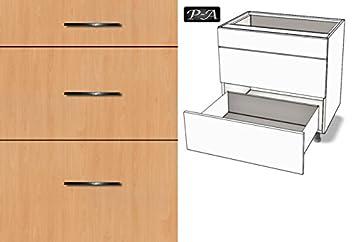 Sehr Premium-Ambiente AGE0160 Unterschrank 3-Schubladen soft closing FE  FM99