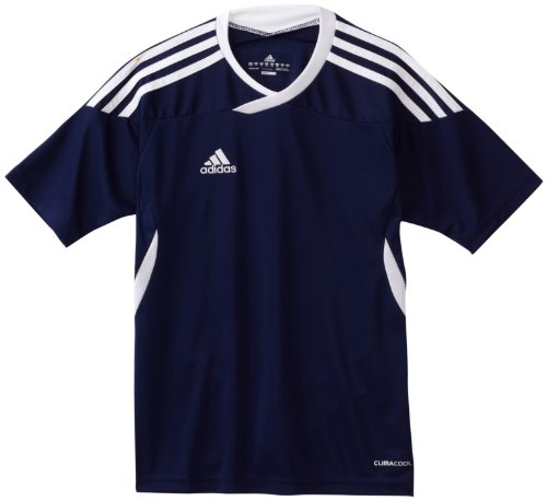Adidas Youth Soccer Uniforms (adidas Big Boys' Youth Tiro 11 Jersey, New Navy/White, X-Large)