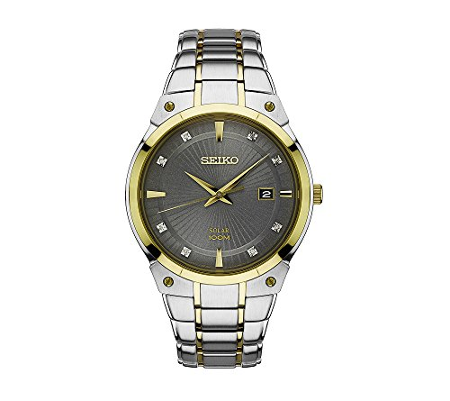 Seiko-Mens-Solar-Two-Tone-Watch-With-Diamond-Accents