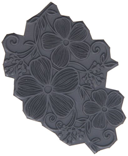 """Magenta Flower Trio Cling Stamps, 3.75 by 2.75"""""""