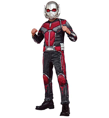 Marvel Comics Ant-Man and The Wasp Plastic Adult Half Mask PVC Costume Accessory