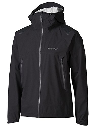 Marmot Men's Crux Rain Jacket (X-Large, Black)