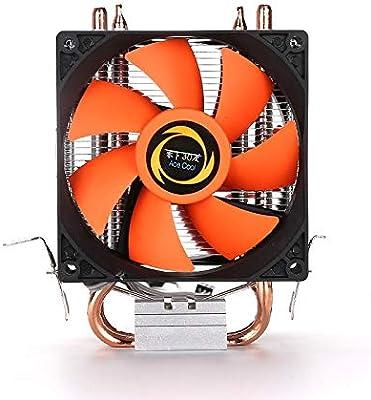 Meiyiu Ventilador de CPU Doble Ventilador Tubo de Cobre Doble ...