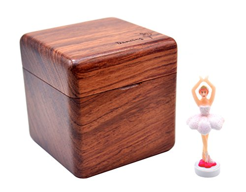 East Majik Ballet Girl Classical Music Box Decoration for Living Room Bedroom Table
