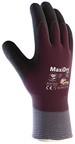 axiflex - Zero - 56-451 - Medium 56-451 Cold Condition Work Glove with Thermal Lining and Full Double-Dipped Nitrile Coating (1, Medium) ()