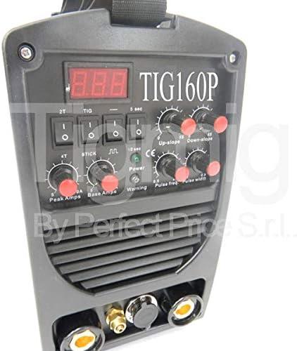 SALDATRICE INVERTER TIG160P ALTA FREQUENZA 170 AMP TIGMIG INVERTER TM PULSATO HF