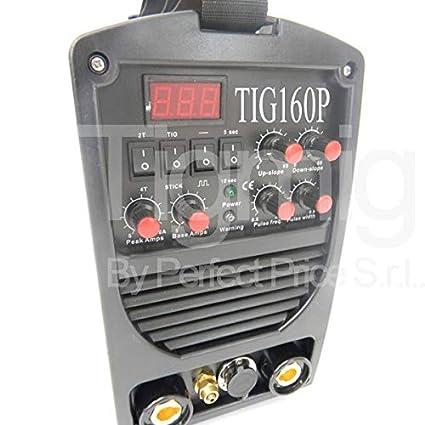Soldador Inverter TIG160P alta frecuencia 170 AMP TIGMIG INVERTER TM ...