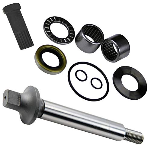 Kit Pump Shaft - Jet Pump Rebuild Kit w/Shaft & Impeller Tool (Compatible With Sea-Doo, Fits MANY RFI GS GSI GSX GTI GTX HX SP SPI SPX XP, See Ad For EXACT Year & Model Fit Before Buying)