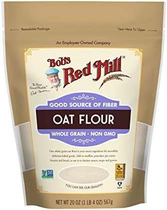 Flours & Meals: Bob's Red Mill Oat Flour
