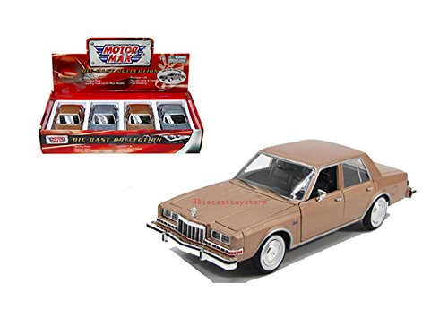 - Motor Max BRAND NEW DIECAST 1:24 DISPLAY 1986 DODGE DIPLOMAT 1PC NO RETAIL BOX 74333D BY