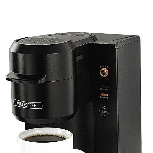 Mr. Coffee Single Serve 9.3 oz. Coffee Brewer, Black by Mr. Coffee (Image #1)