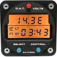 Davtron M803 Digital Clock w/LCD Display (14V)
