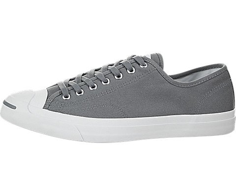Converse Unisex Jack Purcell Jack Ox Cool Grey/White/White Casual Shoe (9.5 Men US / 11 Women US, Cool Grey/White/White)