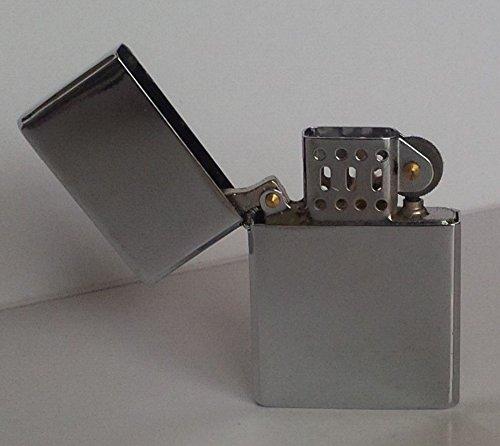 Uniflame Oil - one UNIFLAME windproof Wick Lighters Slim Refillable Oil Lighter