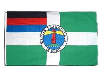 Fahnen Flagge Borkum Sammeln & Seltenes Länder, Regionen & Städte 90 x 150 cm