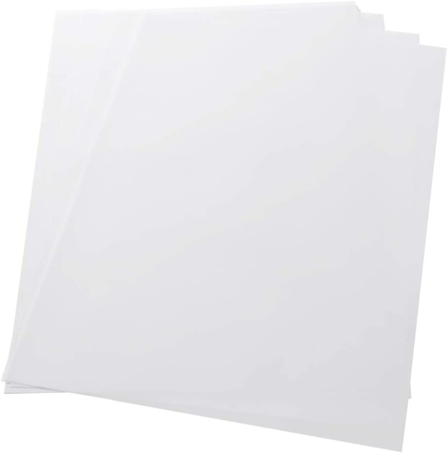 Milisten 50 Sheets A4 Vellum Paper Transfer Paper Translucent Tracing Paper Transparent Sheets for Printing Drawing Ink