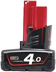Milwaukee 4932430065 M12B4 Li-ion accu 12 V 4,0 Ah, 12 V, multi, 4,0 Ah