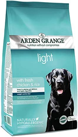 Arden Grange Adult Dry Dog Food Light with Fresh Chicken and Rice, 12 kg – Dogs Corner