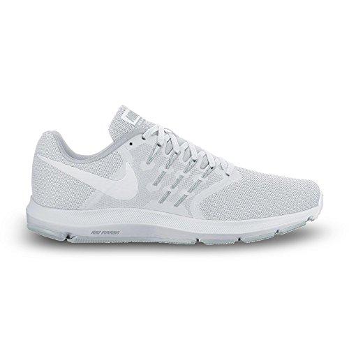 NIKE Women's Run Swift Running Shoe, White/White-Pure Platinum, Size 5.5 M US